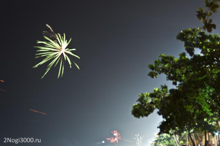 Фейерверки в новый год